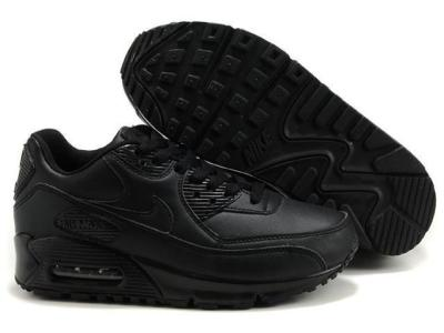best service 6ba6d 78fe5 nike all black air max 90