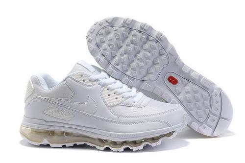 best service 49407 ad5c0 nike air max 90 all white