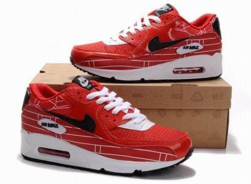 94e82b760757 nike air max 90 red and black