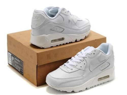 nike air max all white