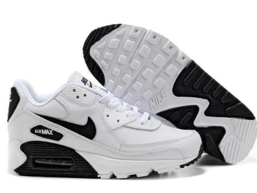 timeless design f0e6d 30e04 nike air max 90 white black