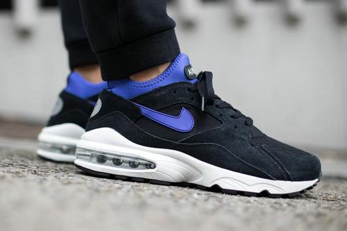 nike air max white and black