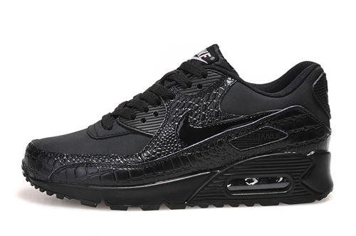 huge selection of d0341 aa1f7 all black air max 90 womens